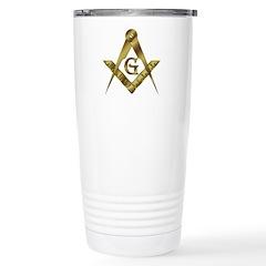The Golden Masons Travel Mug