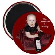 "Wine Connoisseur 2.25"" Magnet (10 pack)"