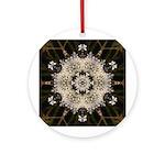 Queen Annes Lace I Ornament (Round)