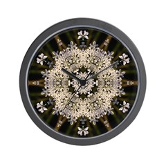 Queen Annes Lace I Wall Clock