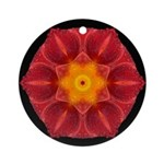 Wet Lily I Ornament (Round)