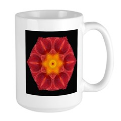 Wet Lily I Large Mug