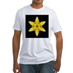 Yellow Lily I Fitted T-Shirt