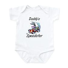 Daddy's Lil Speedster Infant Bodysuit