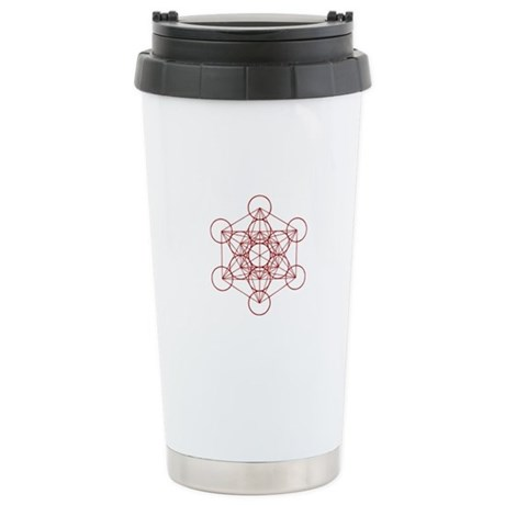 Metatron Cube Stainless Steel Travel Mug