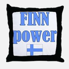 Finnish Pride Throw Pillow