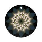 White Lily III Ornament (Round)