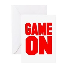 Game on Greeting Card