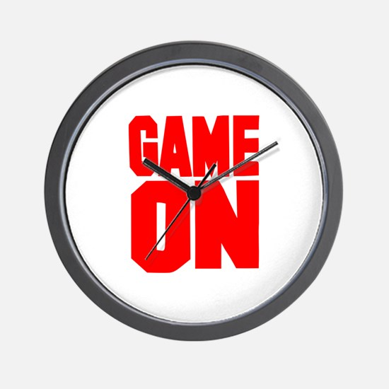 Game on Wall Clock