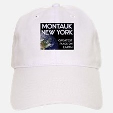 montauk new york - greatest place on earth Baseball Baseball Cap