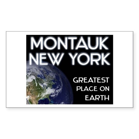montauk new york - greatest place on earth Sticker