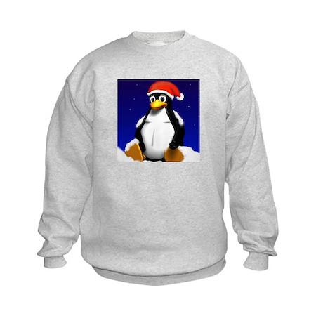 Tuxicle! Kids Sweatshirt