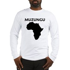 muzungu africa Long Sleeve T-Shirt