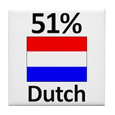 51% Dutch Tile Coaster