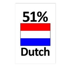 51% Dutch Postcards (Package of 8)