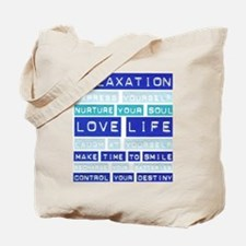 Go Green Love Life Tote Bag