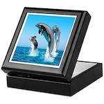 Doxie & Dolphins Keepsake Box