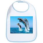 Doxie & Dolphins Bib