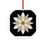 White Lily I Ornament (Round)
