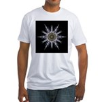 Sea Holly I Fitted T-Shirt