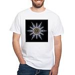 Sea Holly I White T-Shirt