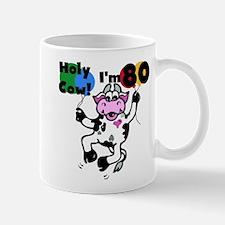 Holy Cow I'm 80 Mug