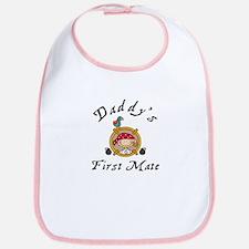 Daddy's First Mate Pirate Bib