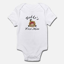Daddy's First Mate Pirate Infant Bodysuit
