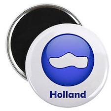 Holland Wooden Shoe Magnet
