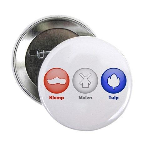 "3 Dutch Icons 2.25"" Button (100 pack)"