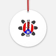Taino Symbol Ornament (Round)