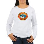 San Diego Fire Department Women's Long Sleeve T-Sh