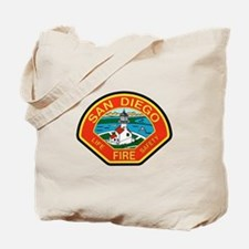 San Diego Fire Department Tote Bag