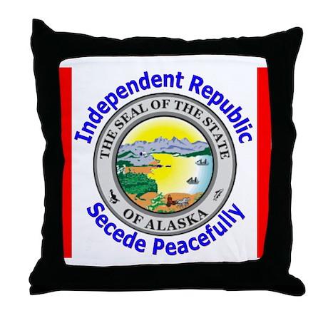 Alaska-5 Throw Pillow