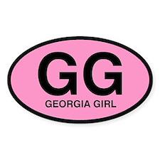 Georgia Girl III Oval Decal