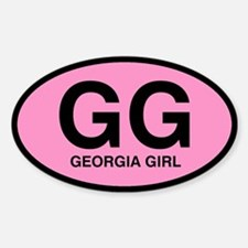 Georgia Girl III Oval Decal