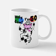 Holy Cow I'm 50 Mug