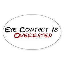 Eye Contact Oval Decal