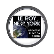 le roy new york - greatest place on earth Wall Clo