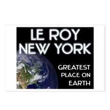 le roy new york - greatest place on earth Postcard