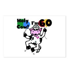 Holy Cow I'm 60 Postcards (Package of 8)