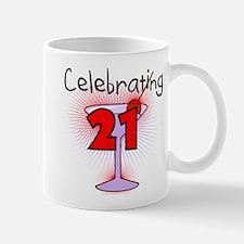 Cocktail Celebrating 21 Mug