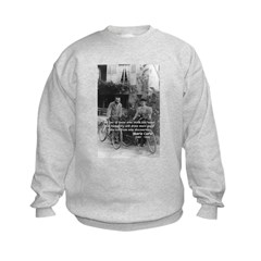 Marie & Pierre Curie Good Evil Sweatshirt