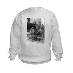 Marie & Pierre Curie Good Evil Sweatshirt