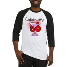 Cocktail Celebrating 50 Baseball Jersey