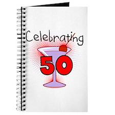 Cocktail Celebrating 50 Journal