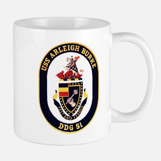 USS Arleigh Burke DDG-51 US Navy Mug