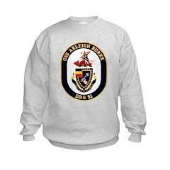 USS Arleigh Burke DDG-51 US Navy Sweatshirt