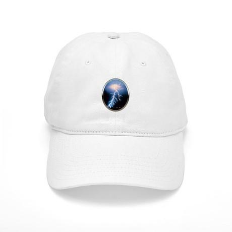Blue Lightning Cap