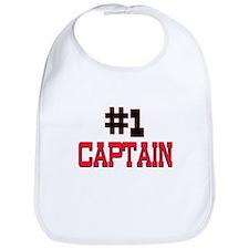 Number 1 CAPTAIN Bib